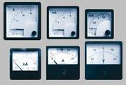 Амперметр,  вольтметр,  частотомер,  ваттметр